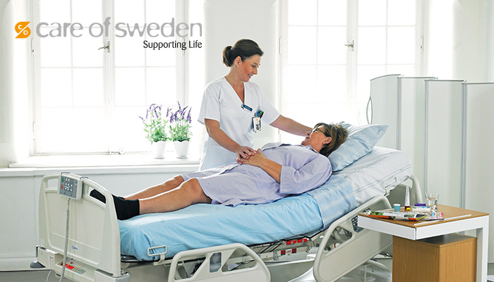 Care of Sweden förebygger trycksår